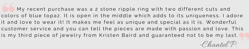 Kristen Baird Client Review_Chantel P