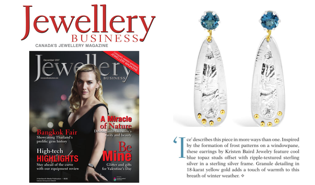 Jewellery Business + Kristen Baird Jewelry
