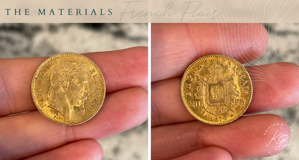 French Flair Ring Redesign Materials - Commission by Kristen Baird®