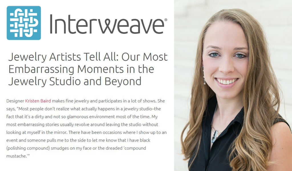 Interweave + Kristen Baird Interview - Jewelry Artists Tell All