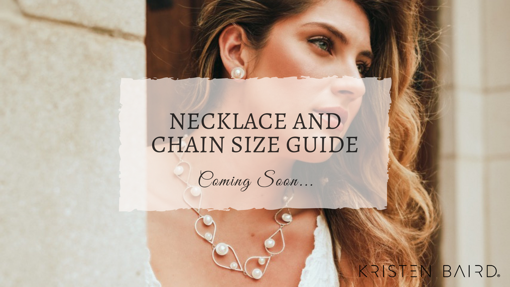 Necklace and Chain Size Guide by Kristen Baird®