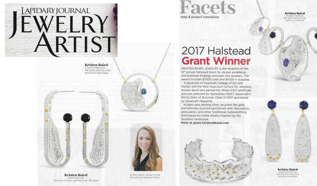 Lapidary Journal Jewelry Artist Features Kristen Baird