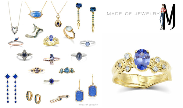 Made of Jewelry Blog Sapphire Roundup