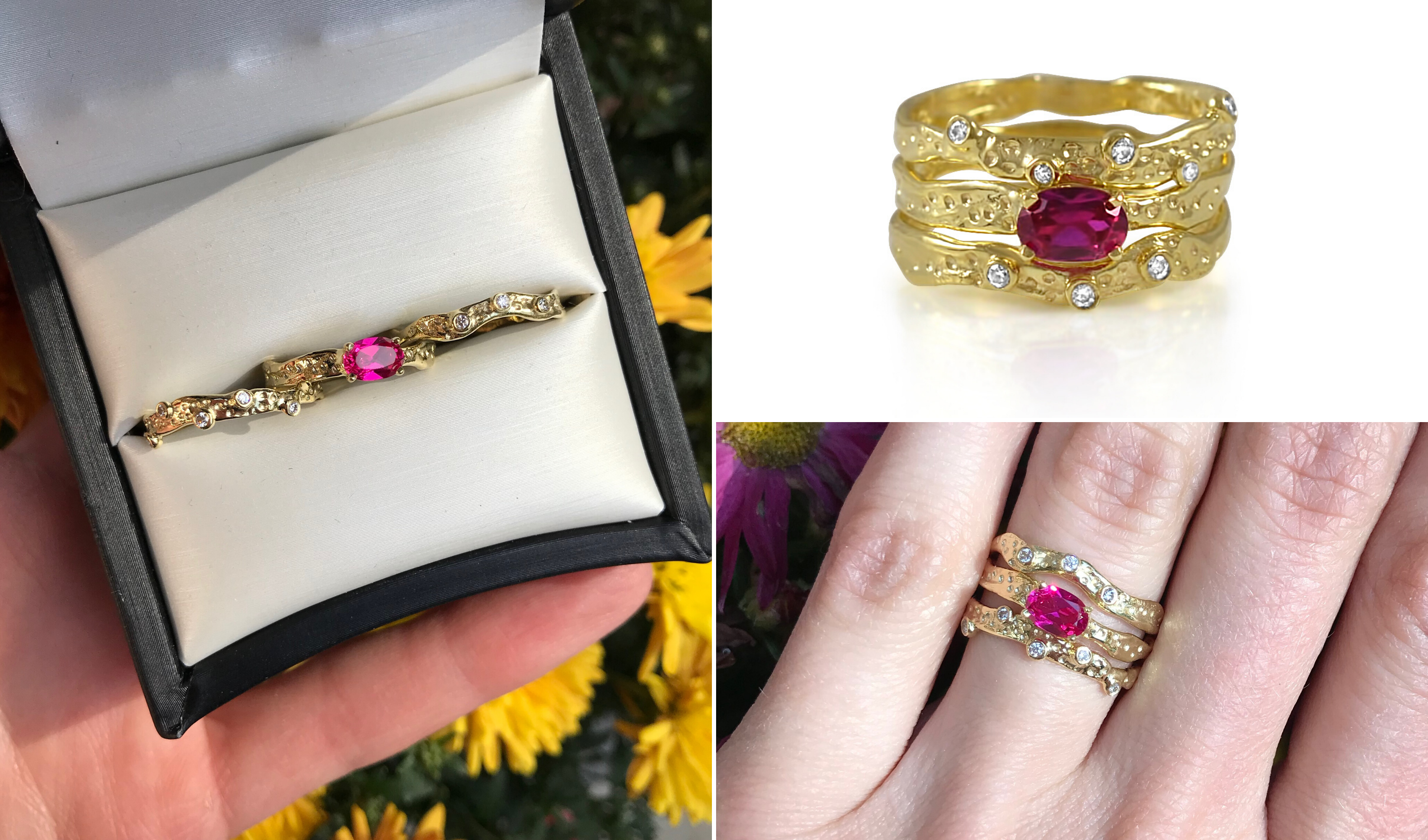 Radiant Ruby Ring Redesign_Kristen Baird®