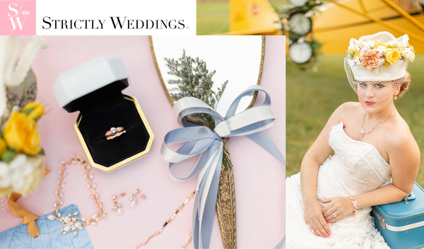 Strictly Weddings featuring Kristen Baird® Jewelry_March 2019