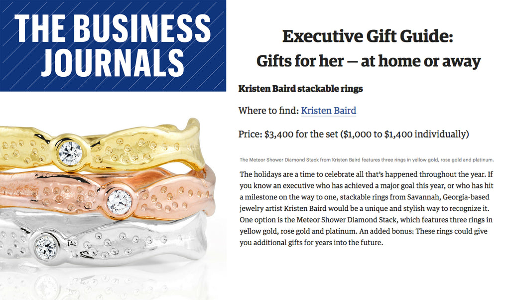The Business Journals - Executive Gift Guide