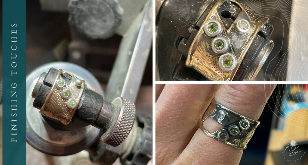 Timeless Treasures Ring Redesign by Kristen Baird®_Finishing Touches