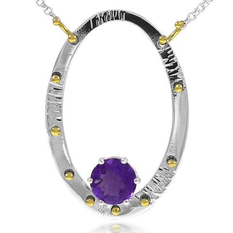 serenity Necklace Amethyst