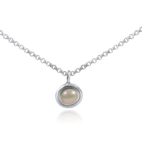 Mini Pearl Necklace by Kristen Baird®