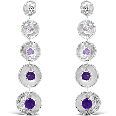 Cascade Earrings - Purples - by Kristen Baird®