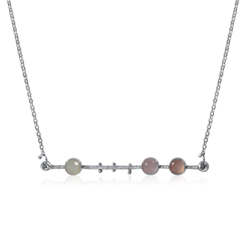 Celestial Catena Necklace - Pinks - by Kristen Baird®