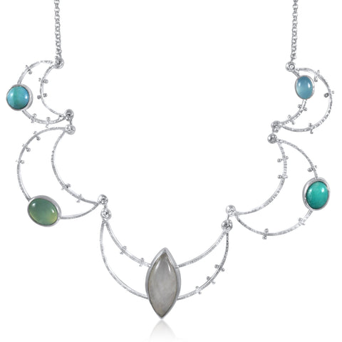 Crater Necklace Statement - Dawn - by Kristen Baird®