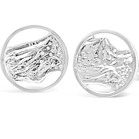 Ripple Cufflinks by Kristen Baird® Jewelry