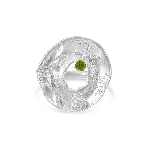 Pond Ring - Peridot