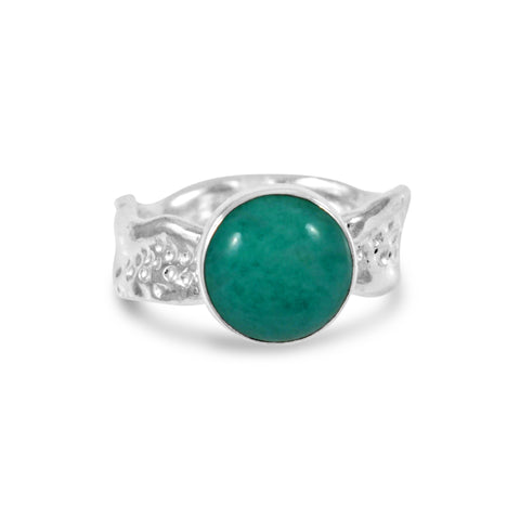 Ripple Ring - Amazonite