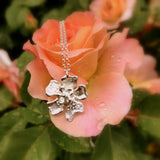 Fleur de Cerisier Necklace (Medium)_by Kristen Baird® Jewelry