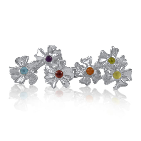 Fleur de Cerisier Gem Ring_Bonjour Belle Collection_Kristen Baird®