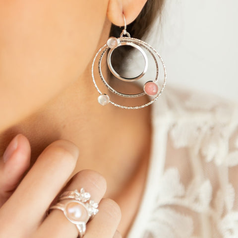 Grand Orbit Earrings