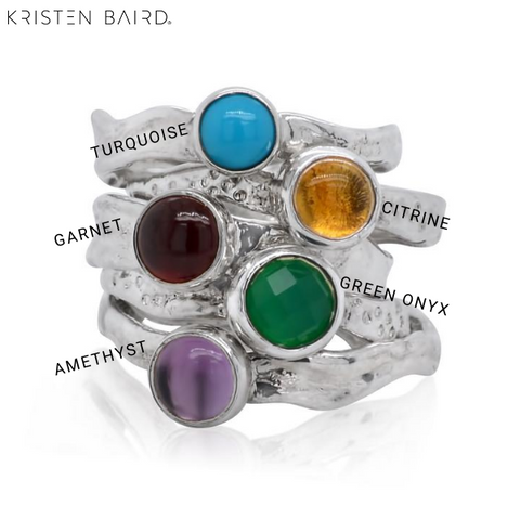 Mini Ripple Ring Gem Color Chart
