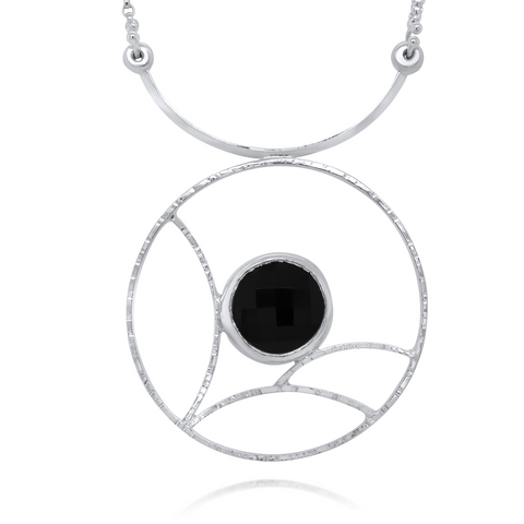 Nebula Necklace in Onyx by Kristen Baird®