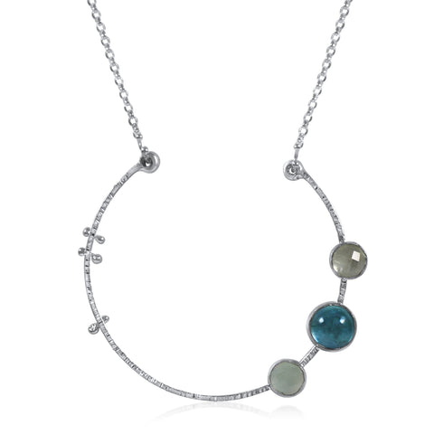 Nova Necklace - Blues - by Kristen Baird®