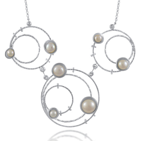 Orbit Necklace Statement