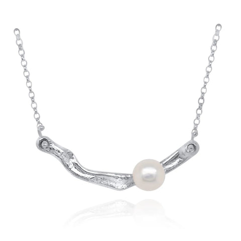 Pearl Bar Necklace by Kristen Baird®