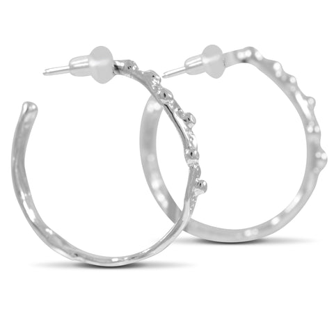Ripple Hoops - Medium - by Kristen Baird®