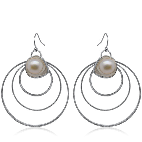Rising Earrings_Pearl_Kristen Baird®