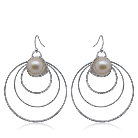Rising Earrings_Pearl Collection_Kristen Baird®