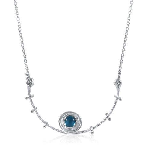 Satellite Necklace Blue Topaz by Kristen Baird®