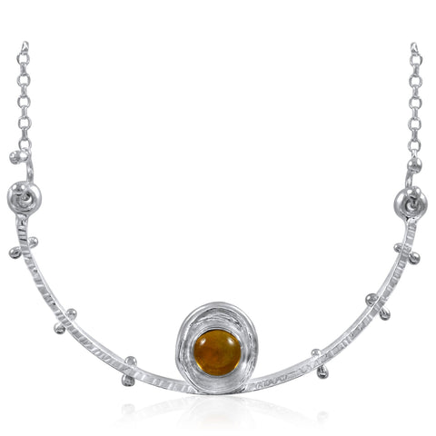 Satellite Necklace Citrine by Kristen Baird®