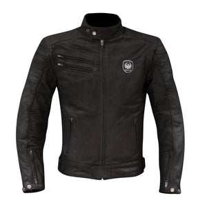 Alton Leather Jacket-leather-Merlin-Black-38-Merlin Bike Gear