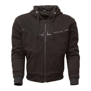 Easton Hoody-Protective Hoody-Merlin-Black-Small-Merlin Bike Gear