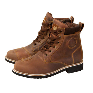 Ether Waterproof Boot-Boots-Merlin-Brown-7-Merlin Bike Gear