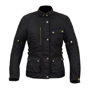 Harriet Ladies Jacket-Tech Wax-Merlin-XS-Merlin Bike Gear