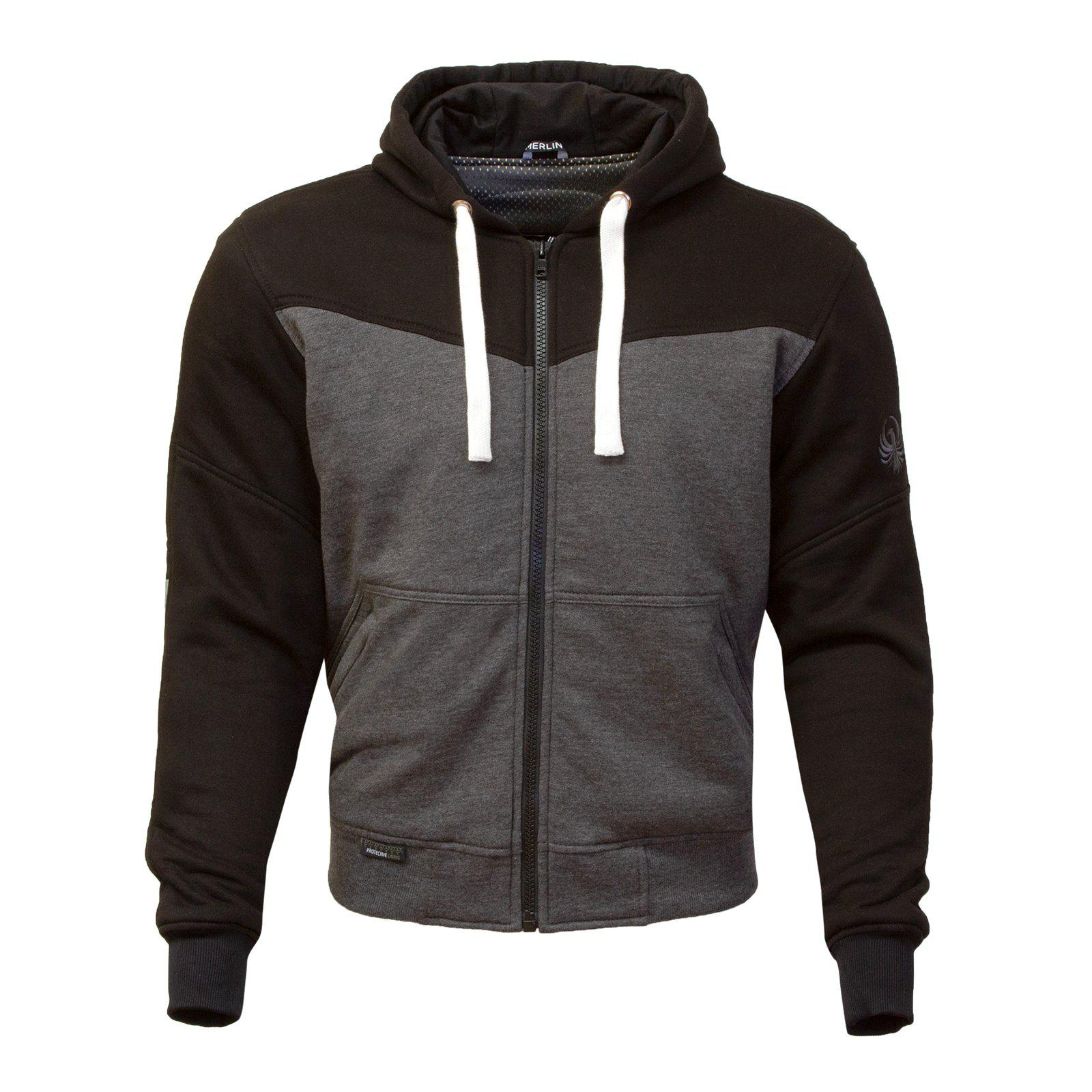 Hurley Hoody-Protective Hoody-Merlin-Black/Grey-Small-Merlin Bike Gear