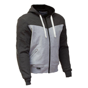 Hurley Hoody-Protective Hoody-Merlin-Grey/Stone-Small-Merlin Bike Gear