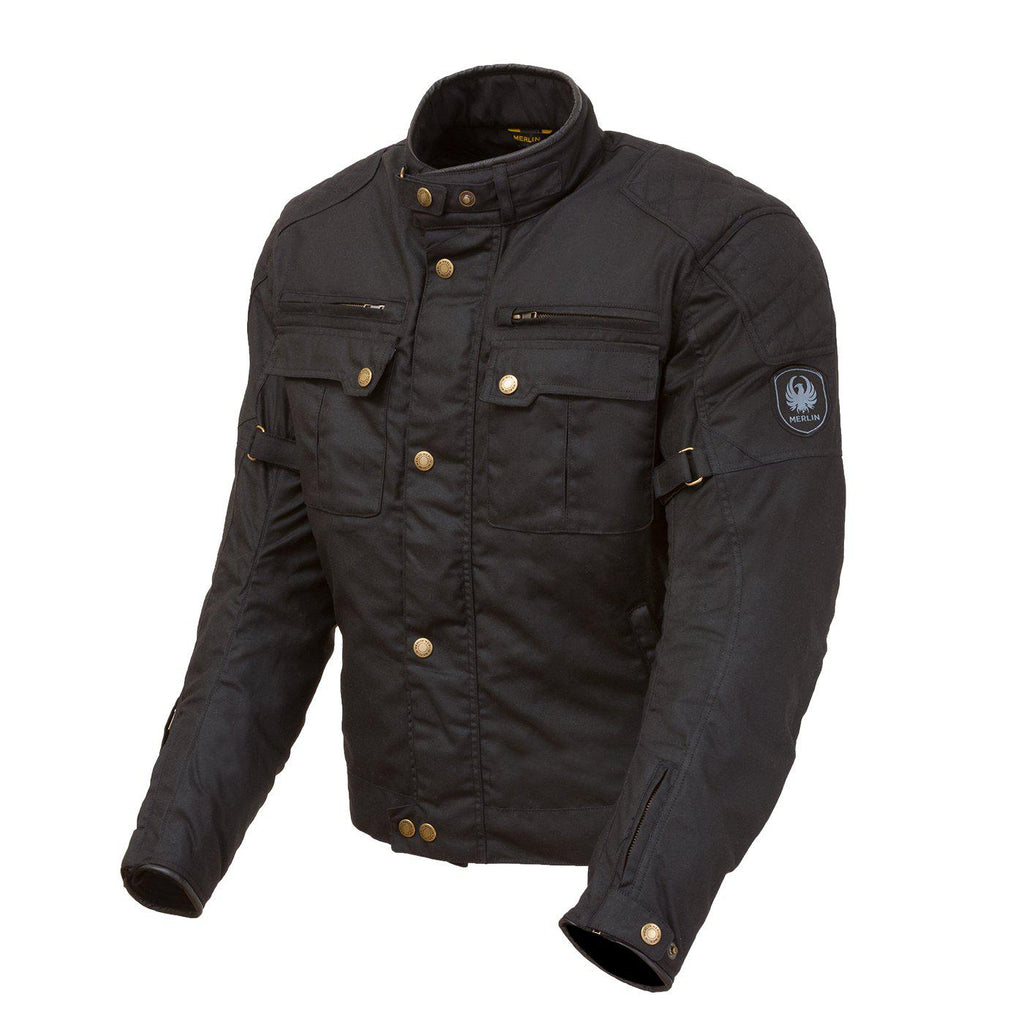Perton Jacket-Tech Wax-Merlin-Small-Merlin Bike Gear