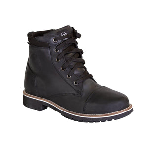 Selena Ladies Waterproof Boot-Boots-Merlin-Black-4-Merlin Bike Gear