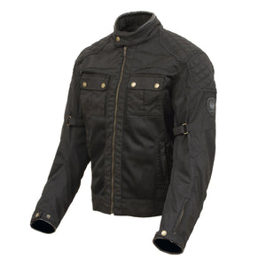 Shenstone Air Jacket-Tech Wax-Merlin-Small-Merlin Bike Gear
