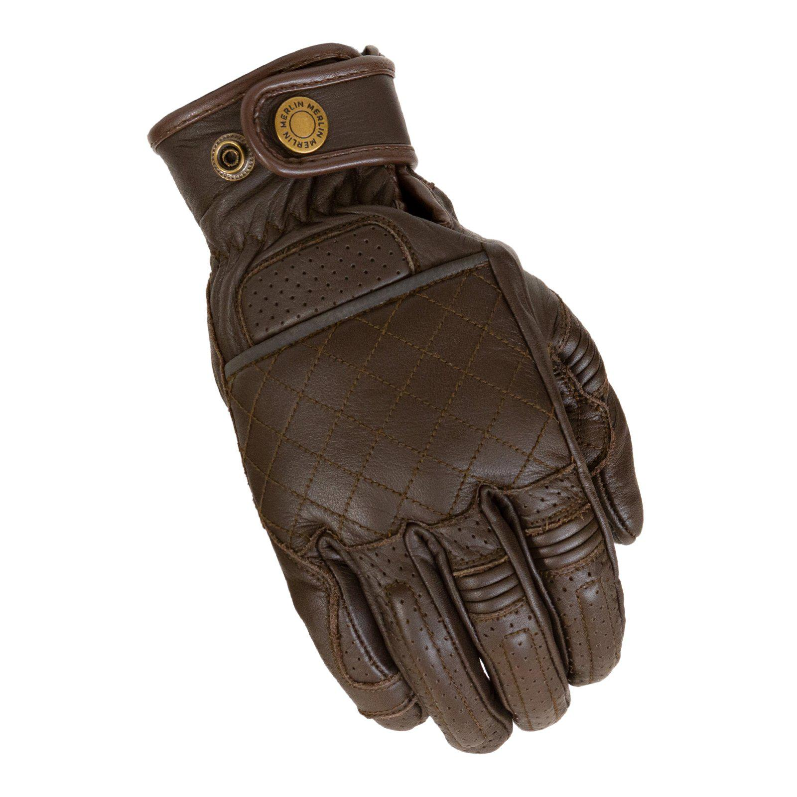 Stewart Glove-Gloves-Merlin-Brown-Small-Merlin Bike Gear