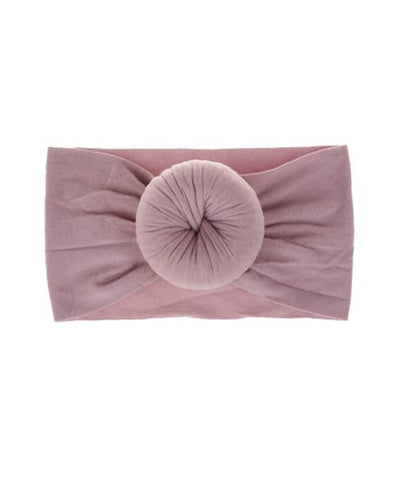Mauve Bun Headband- LAST ONE!!**