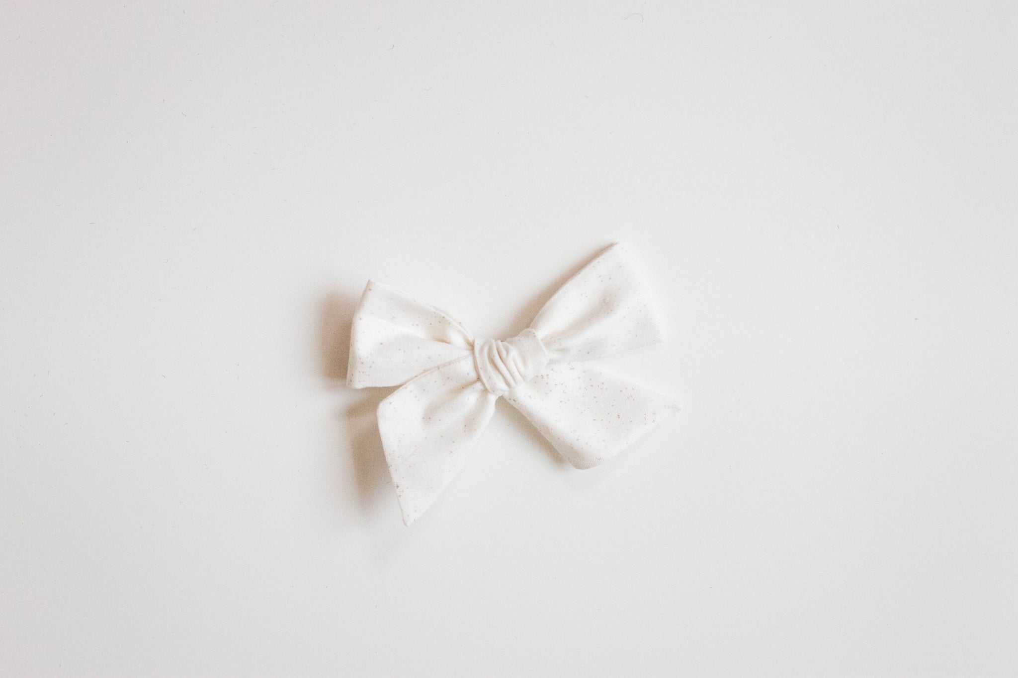 White Speckled Bow