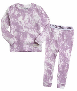 Tie Dye PJ Set- Purple