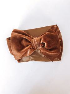 Copper Velvet Headwrap
