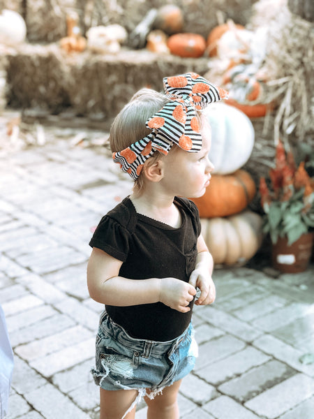 Pumpkin Patch Headwrap
