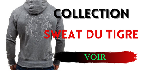 Collection sweat du tigre