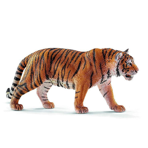 Figurine Tigre Orange | ŒIL DU TIGRE NOIR