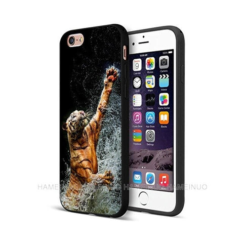 Coque Tigre <br> Protection Portable